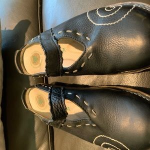 El Naturalista size 41 black Mary Jane mules